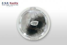 Wimpern 10mm C-Curl